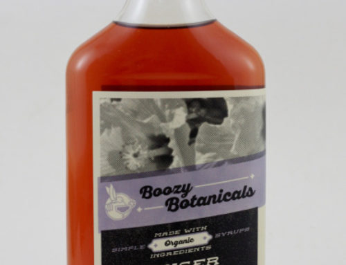Ginger Hibiscus Syrup by Boozy Botanicals